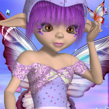 DA-So Cute for Amity Mushroom Elf  DarkAngelGrafics