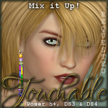 Touchable Hr-114 Hair -Wolfie-