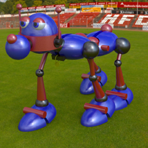 Robo Rover (for Poser) 3D Models Digimation_ModelBank