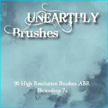 doarte's UNEARTHLY Brushes Themed doarte