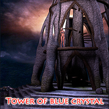 Tower of blue crystal 3D Models 1971s