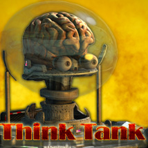Think Tank - Cybernetic Undead Creature Themed Props/Scenes/Architecture Transportation Stand Alone Figures Cybertenko