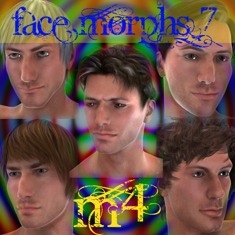 Farconville's Face Morphs for Michael 4 Vol.7