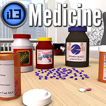 i13 Medicine Props/Scenes/Architecture Themed Software ironman13