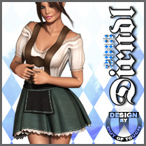 THE DIRNDL 2013 for Dawn 3D Models 3D Figure Essentials outoftouch