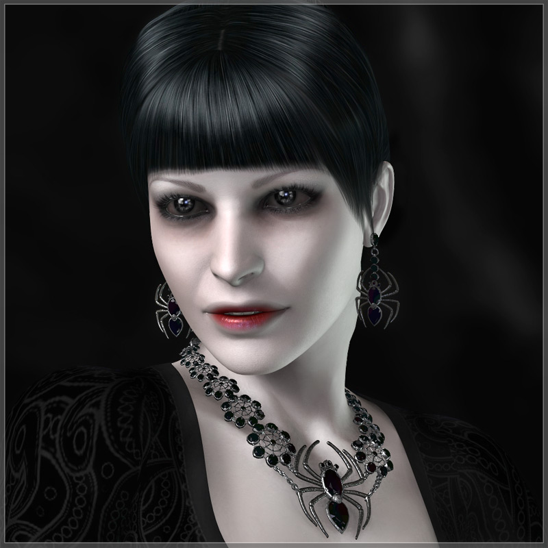 GCD Jewelry - Black Widow