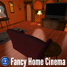 i13 Home Cinema Software Props/Scenes/Architecture Themed ironman13