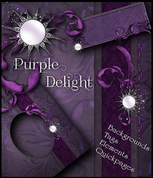 Purple Delight 2D Graphics antje
