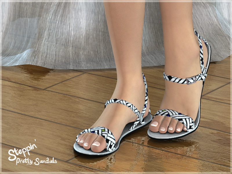 Steppin' : Pretty Sandals