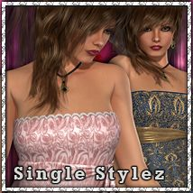 Single Stylez: Classy Top 3D Figure Essentials 3D Models sandra_bonello