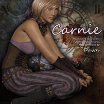 Carnie for Dawn 3D Figure Assets Deecey