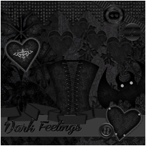 Dark Feelings 2D Graphics Atenais