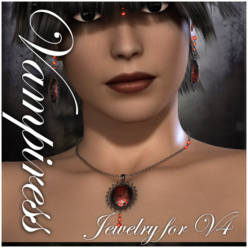 Vampiress Jewelry for V4