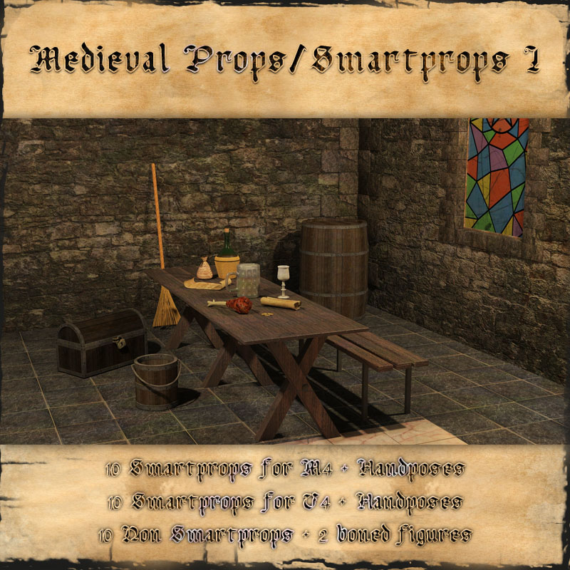 Medieval Smartprop Collection 1