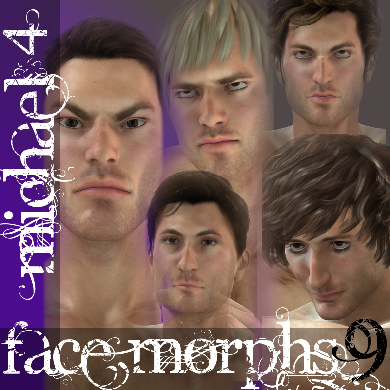 Farconville's Face Morphs for Michael 4 Vol.9