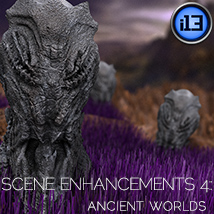 i13 Scene Enhancements 4 Ancient Worlds 3D Models ironman13