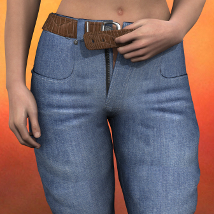 SY Slim Jeans G2F 3D Figure Essentials SickleYield