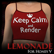 KB-Lemonade for Honey-V 3D Figure Assets karibousboutique
