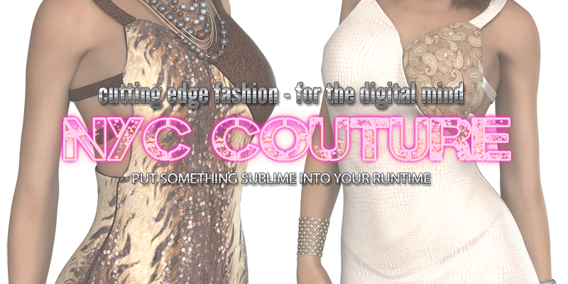 NYC Couture: Smooth Dress for V4