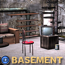 i13 basement Props/Scenes/Architecture Themed ironman13