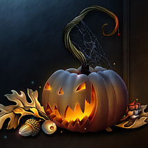 Moonbeam's Sinister Halloween 2D Graphics 3D Models moonbeam1212