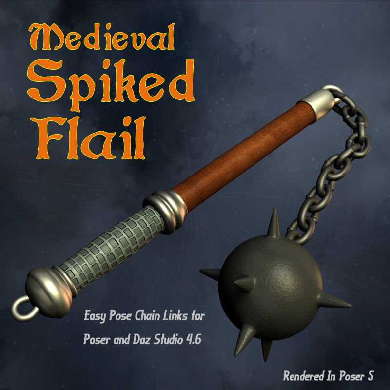 Medieval Spiked Flail_SFL