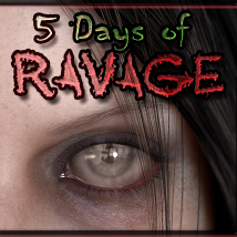 MDD 5 Days of Ravage for V4.2 3D Figure Essentials Maddelirium
