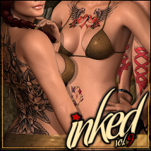 Inked Vol.9 for Dawn 2D And/Or Merchant Resources ShanasSoulmate