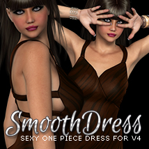 i13 smooth dress for V4 Clothing Software ironman13