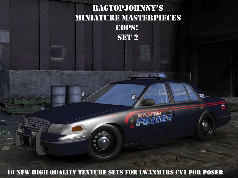 Ragtopjohnny's COPS! Set 2
