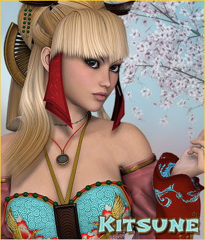 PA Kitsune - Misao Themed Accessories Clothing Hair Footwear P3D-Art