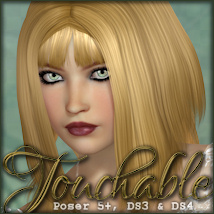 Touchable Mix and Match Hair -Wolfie-