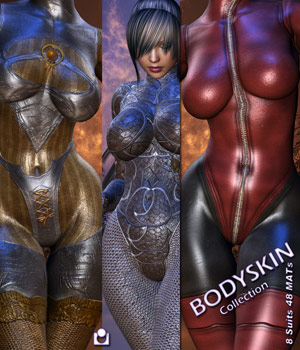 Body-Skin Collection 3D Figure Assets 3D Models Darkworld
