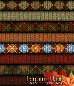 LTS~I Dream of Knit ~ Autumn Themed 2D And/Or Merchant Resources Tergiet