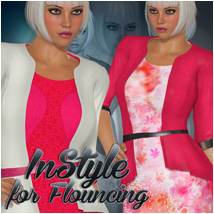InStyle for Flouncing 3D Figure Essentials Atenais