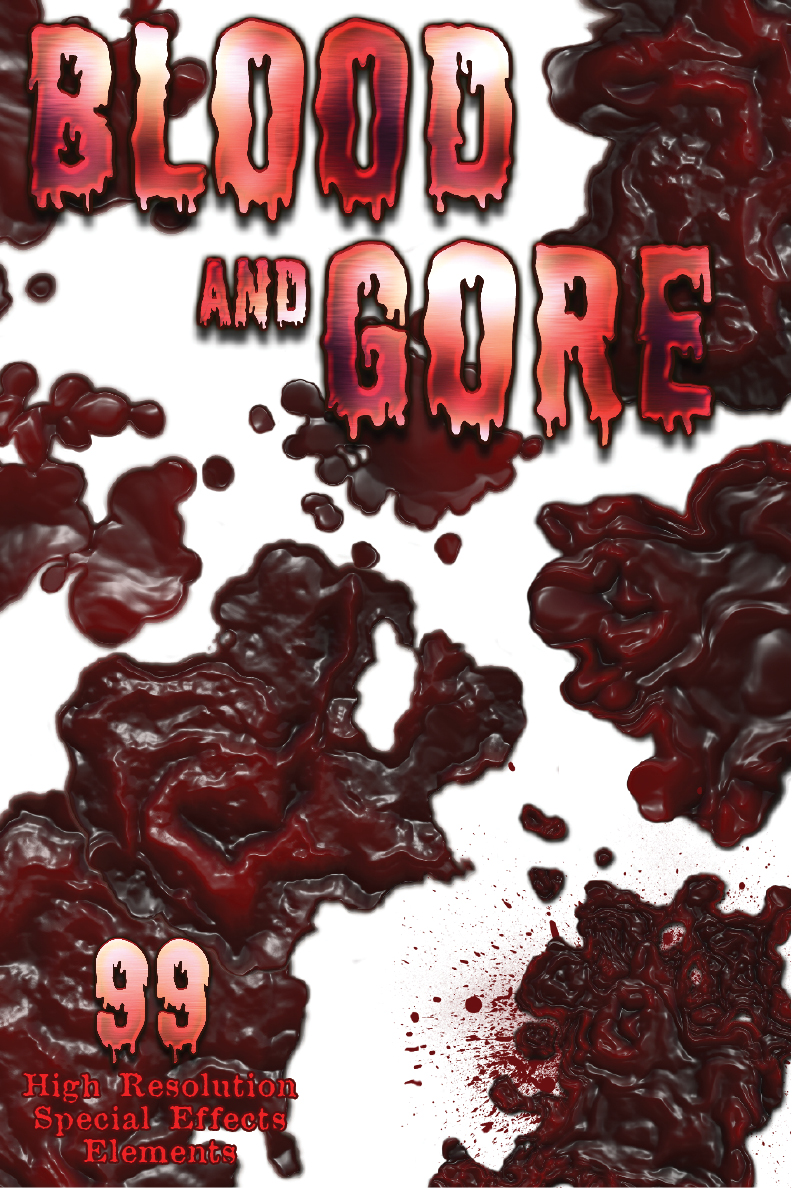 Blood and Gore effects elements
