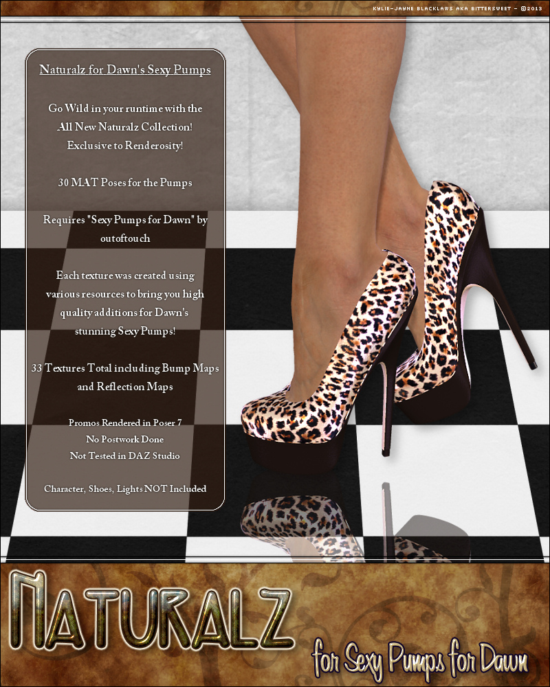 Naturalz: Sexy Pumps for Dawn