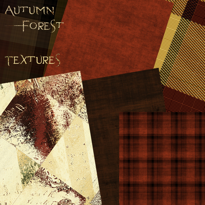 Autumn Forest Textures .. Merchant Resource