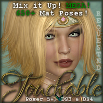 Touchable Calais Hair -Wolfie-