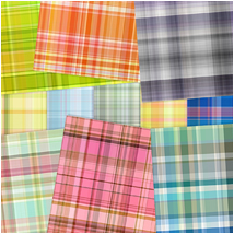 Digital Patterns - Plaids 2D Graphics Atenais