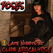 i13 Club Apocalypse POSES Props/Scenes/Architecture Software Themed Poses/Expressions ironman13