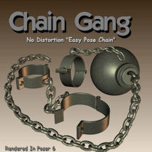 Chain Gang CG 3D Figure Essentials 3D Models pappy411