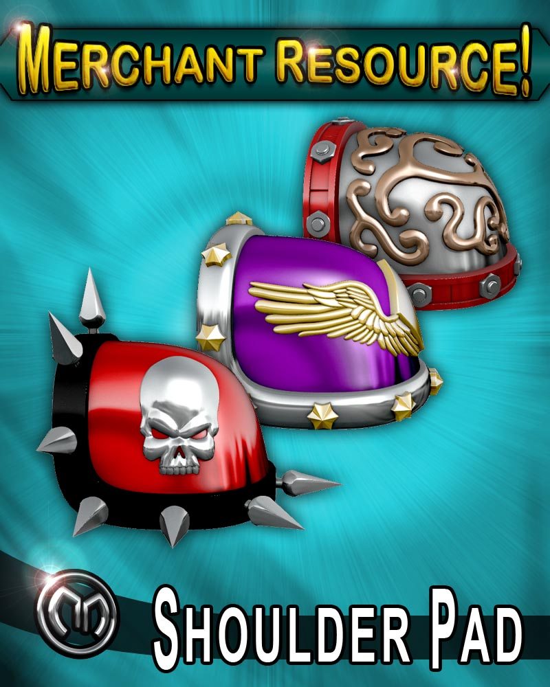 MM Shoulder Pad (Merchant Resource)