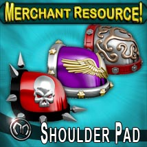 MM Shoulder Pad (Merchant Resource) 3D Models Merchant Resources mix_mash