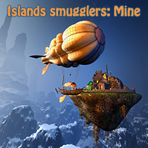 Islands smugglers: Mine Props/Scenes/Architecture Themed 1971s