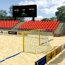 STZ Beach stadium 2 3D Models santuziy78
