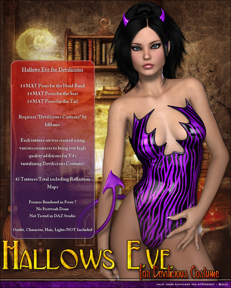 Hallows Eve: Devilicious Costume