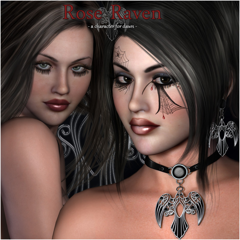 Rose Raven Dawn Character