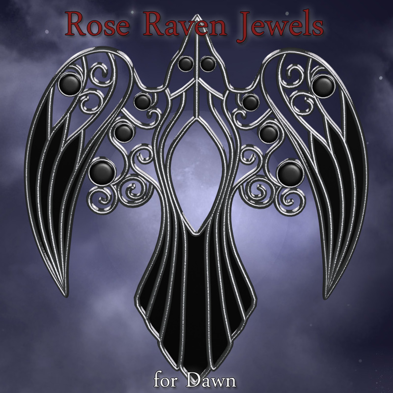 Rose Raven Jewels Dawn
