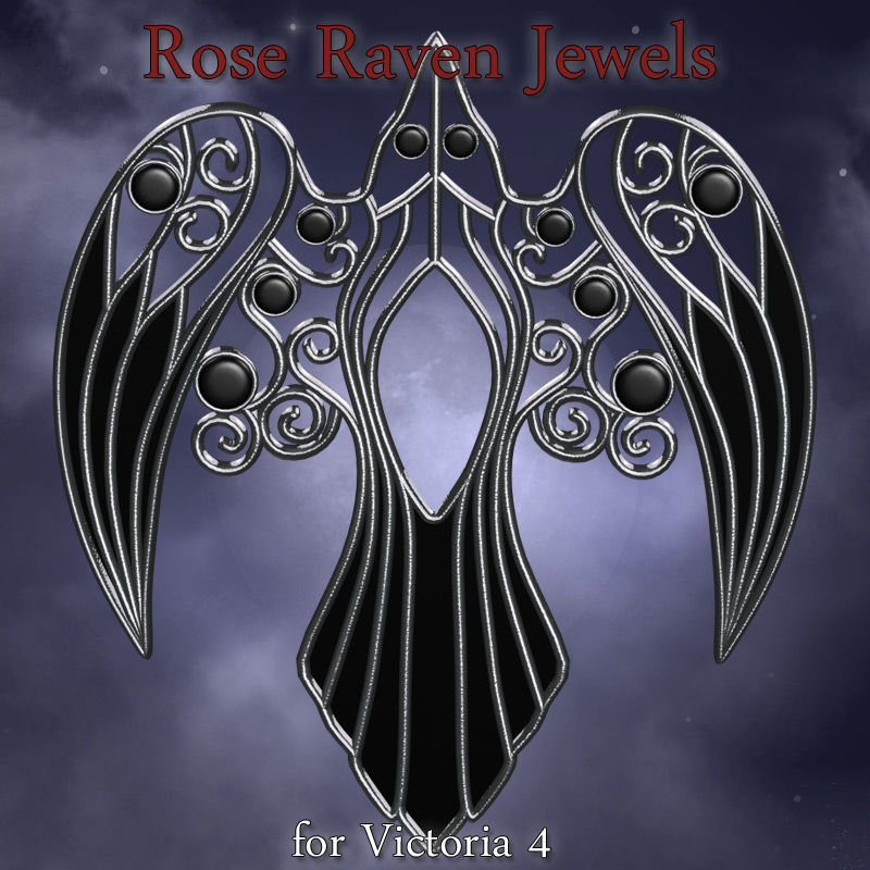 Rose Raven Jewels V4